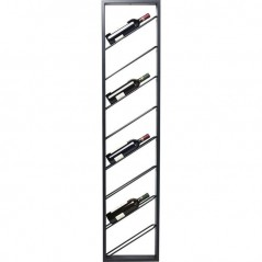 Wall Wine Shelf Bistro Uno 160cm