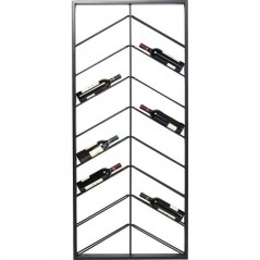 Wall Wine Shelf Bistro Double 160cm