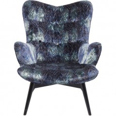 Armchair Angels Wings Eco Fancy Blue
