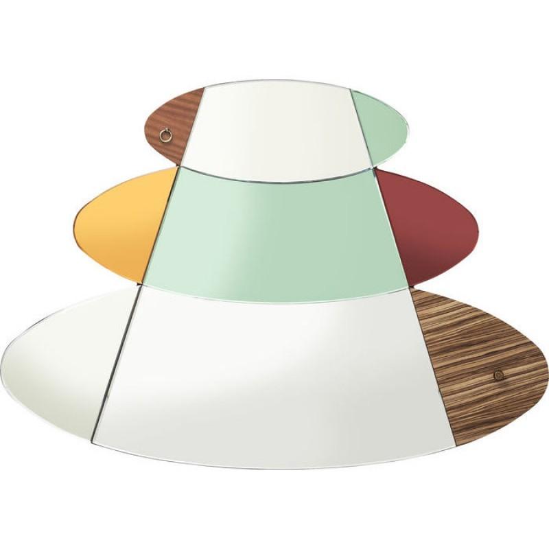 Mirror Metamorphosis Circles 107x150cm