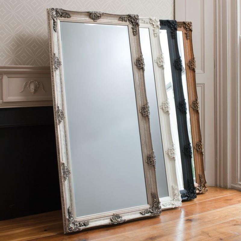 Abbey Leaner Mirror Gold W795 x D65 x H1650mm