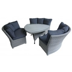 DE Aipmylo Outdoor Set + Cushion