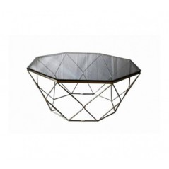 Allure Coffee Table Geometry Diamond Grey