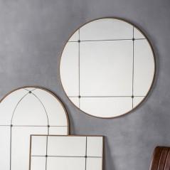 Ariah Round Mirror W900 x D15 x H900mm