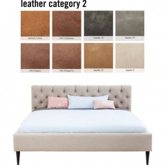 Bed Nova Individual 160x200cm Leather 2