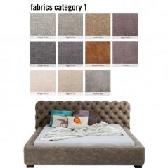 Bed Slumber Individual 160x200cm Fabric 1