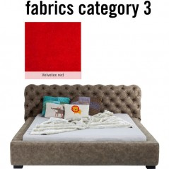 Bed Slumber Individual 160x200cm Fabric 3