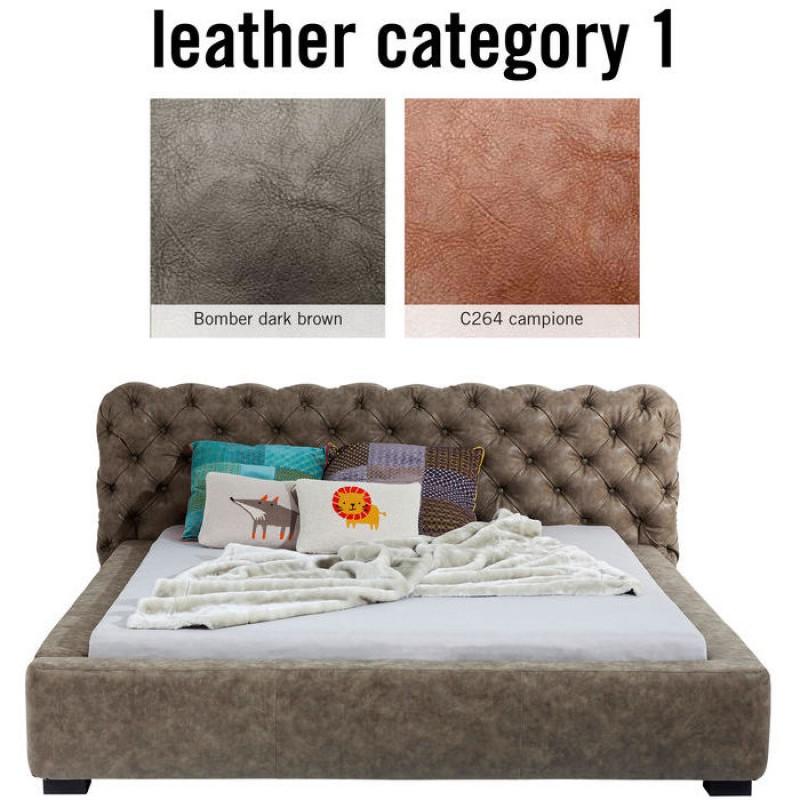 Bed Slumber Individual 160x200cm Leather 1