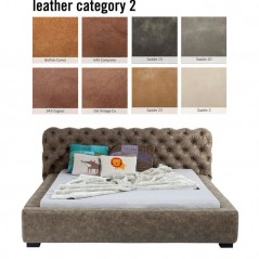 Bed Slumber Individual 160x200cm Leather 2
