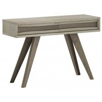 Cad Aged Oak Console Table