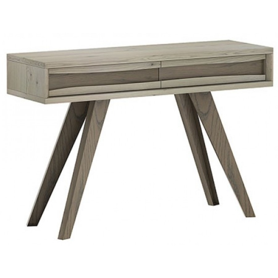 Ordinaire Cad Aged Oak Console Table