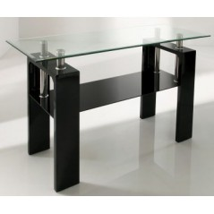 CALICO CONSOLE TABLE BLACK