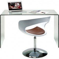 Clear Club Office Desk 125x60cm