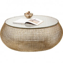 Coffee Table Cesta Gold