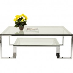 Coffee Table Silver Rush 120x120cm