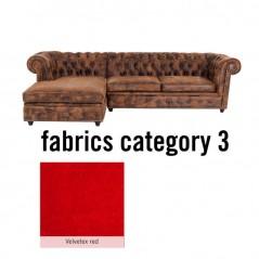 Corner Sofa Cambridge Individual Left Fabric 3