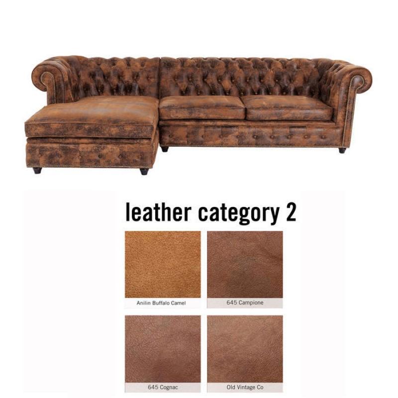 Corner Sofa Cambridge Individual Left Leather 2