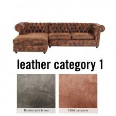 Corner Sofa Cambridge Individual Left Leder 1