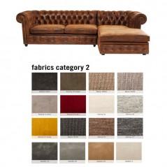 Corner Sofa Cambridge Individual Right Fabric 2