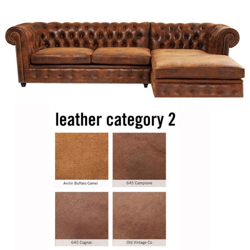 Corner Sofa Cambridge Individual Right Leather 2