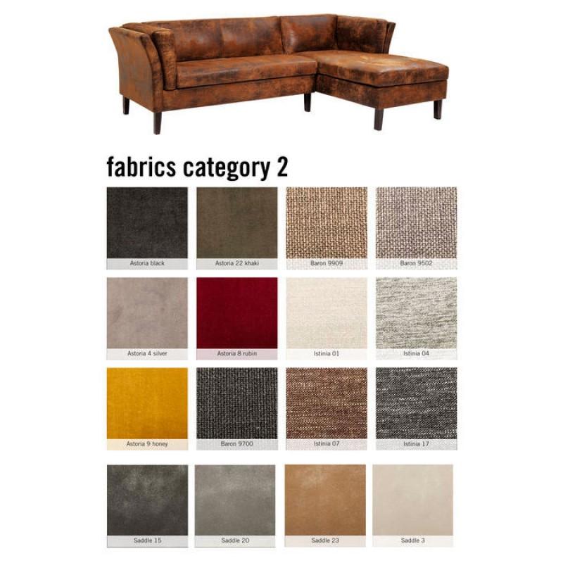 Corner Sofa Canapee Individual Fabric 2