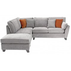 VL Cantrell Corner Group - Silver (LHF) (4 Scatter Cushions)