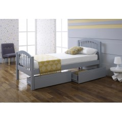 LL Despina Drawers in Grey 3ft Bedstead