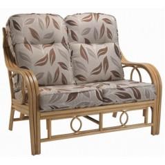 DE Dirdam Light Oak 2 Seater + Cushion