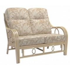DE Dirdam Natural 2 Seater Sofa + Cushion