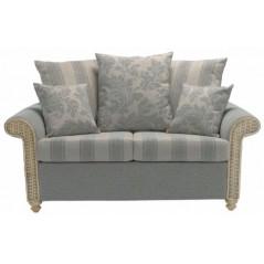 DE Drofmats 2 Seater Scatter Back Sofa + Cushion