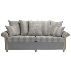 DE Drofmats 3 Seater Scatter Back Sofa + Cushion