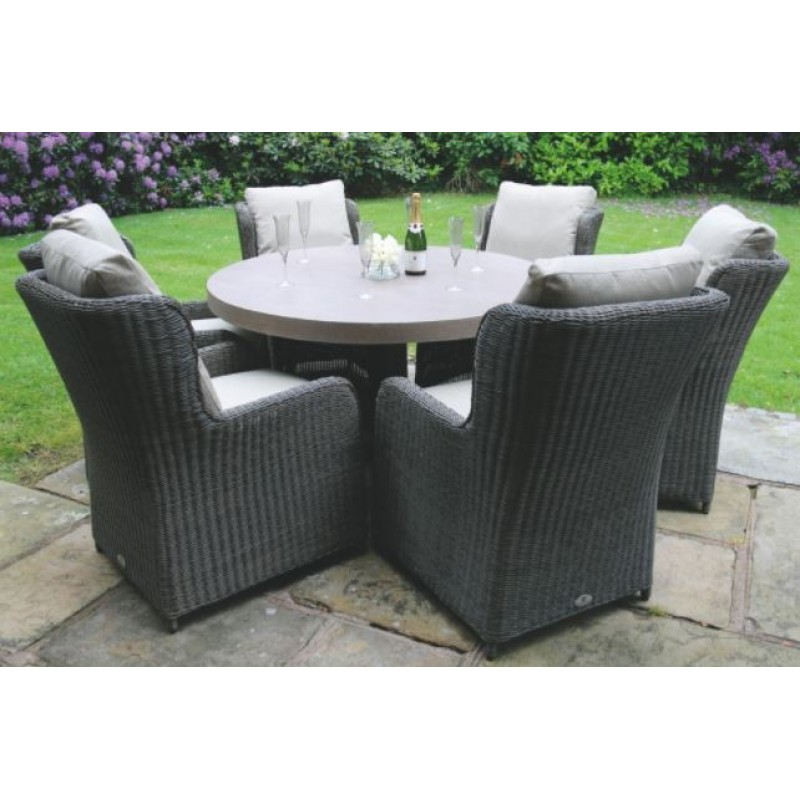 DE Iflama Outdoor Set with Clinton Chairs