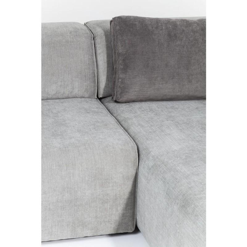 Sofa Infinity Ottomane Grey Right