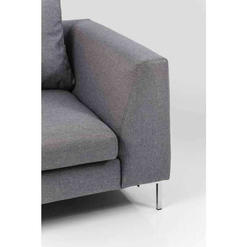 Corner Sofa Gianni Small Grey Left