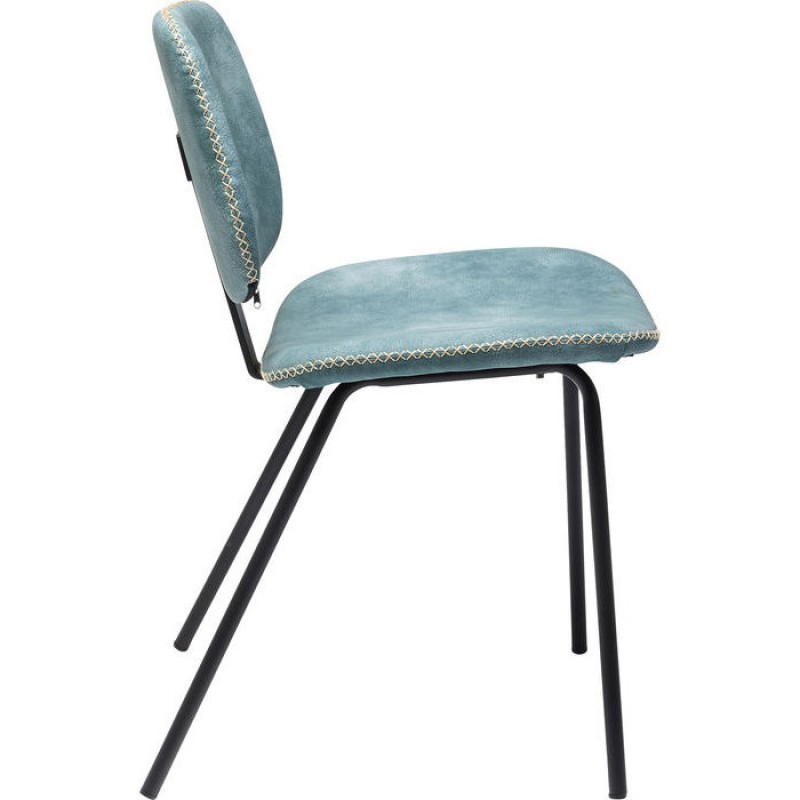 Chair Barber Light Blue
