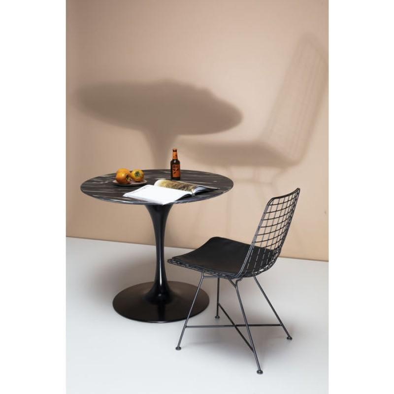Table Invitation Set Ebony Black Ø90cm