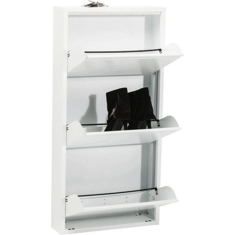 Shoe Container Caruso 3 white