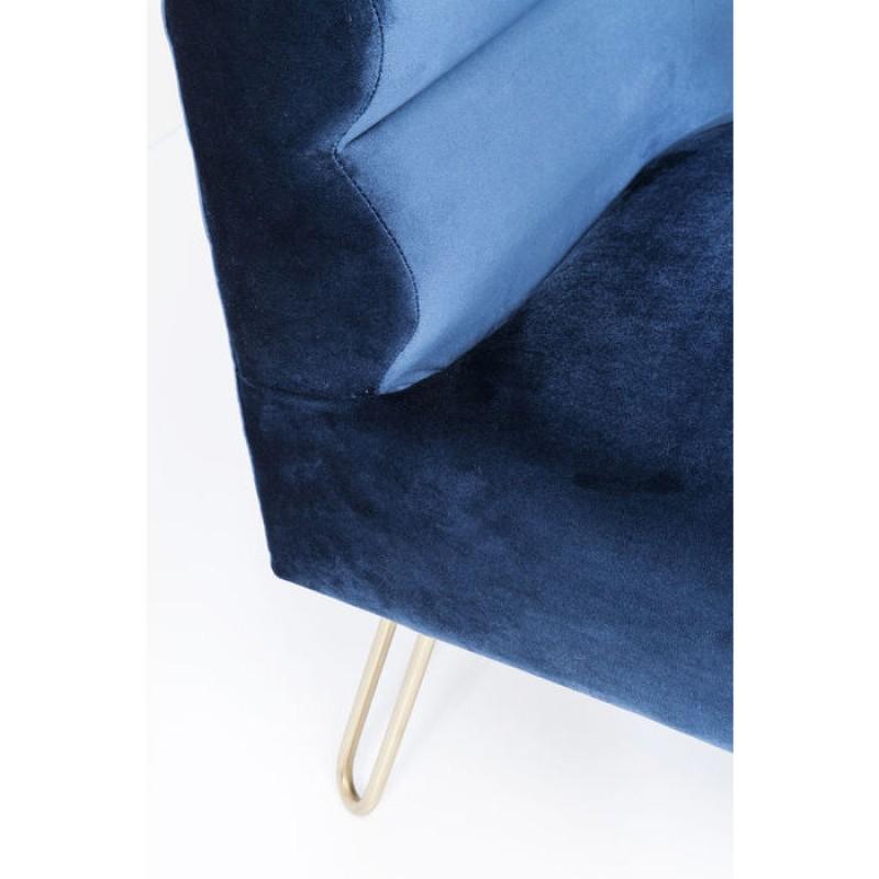 Sofa Monaco Blue 2-Seater 160cm