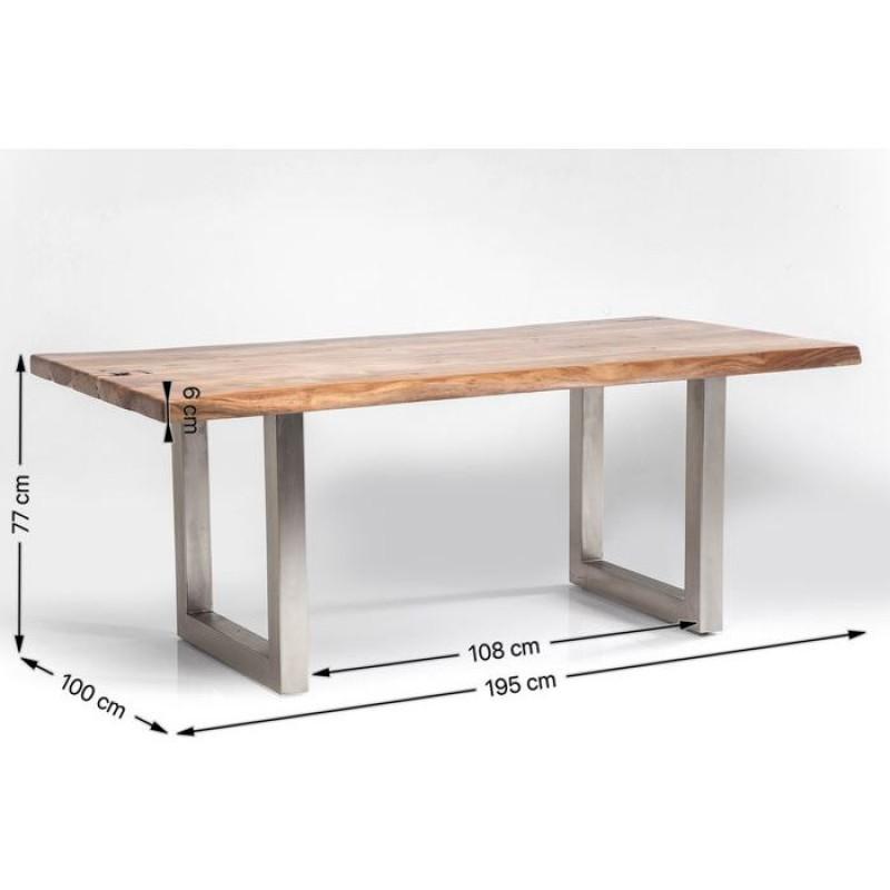 Table Pure Nature 195x100cm 5cm