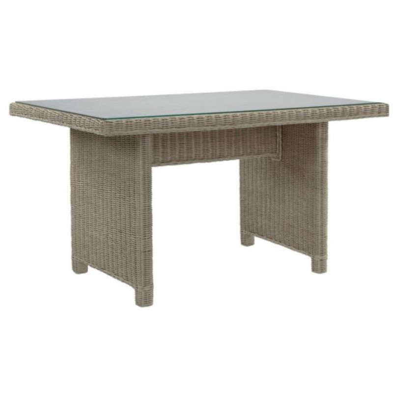 DE Lausac Dining Table + Glass