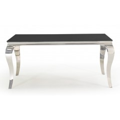 VL Louis Dining Table - Black 1600mm