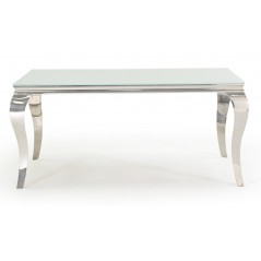 VL Louis Dining Table - White 1600mm