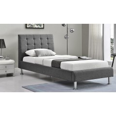 VL Lyra Fabric Bed - 3' - Charcoal