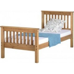 WS MONACO 3' BED HIGH FOOT END Natural