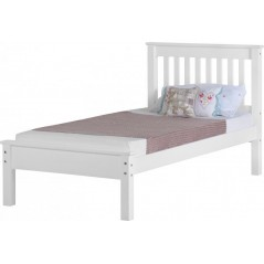 WS MONACO 3' BED LOW FOOT END-WHITE