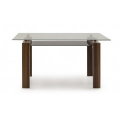 VL Maya Dining Table 1500 - Walnut