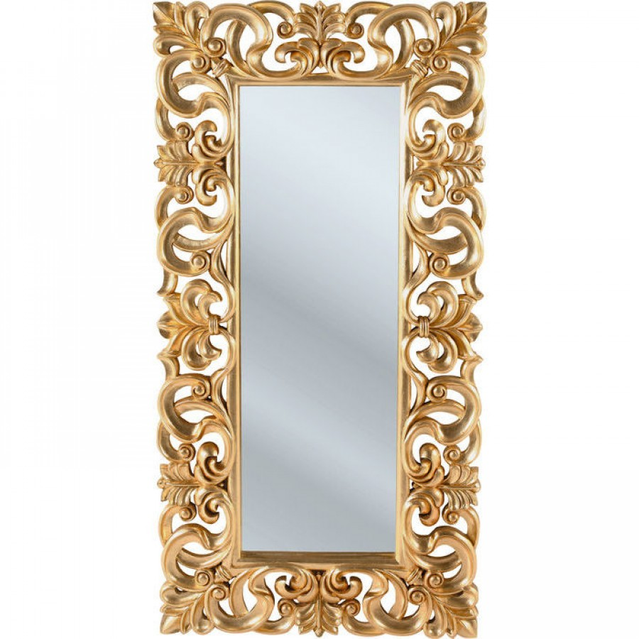 Mirror italian baroque gold 2017 for Miroir style baroque