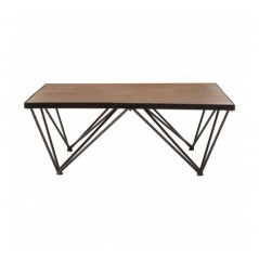 Bell Coffee Table Square Natural