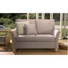 DE Notgnilra 2 Seater Sofa + Cushion
