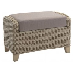 DE Notgnilra Footstool + Cushion